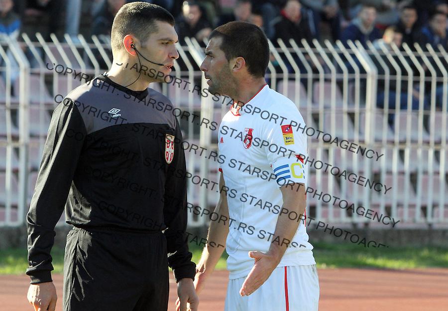 Fudbal Super liga season 2015-2016<br /> Radnicki (Nis) v Borac<br /> Radnicki Aleksandar Jovanovic<br /> Nis, 1.11.2015.<br /> foto: Sasa Djordjevic/Starsportphoto &copy;