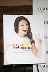Atmosphere at  DuJour Magazine soiree celebrating Fran Drescher's Cancer Shmancer movement Held at SEN NYC