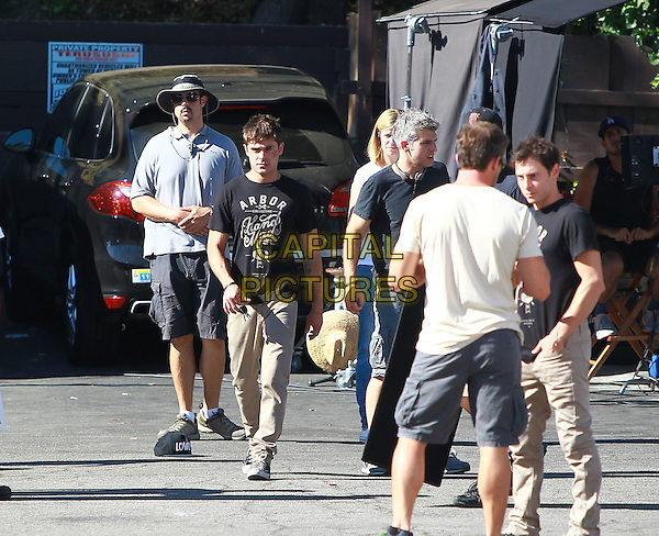 September 9 2014 Zac Efron Filming his new movie &quot;We are your Friends&quot; in Los Angeles California John Misa / Mediapunch<br /> CAP/MPI/Misa<br /> &copy;Misa/MPI/Capital Pictures