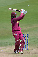 Shai Hope (West Indies) pulls a short delivery from Trent Boult for six during West Indies vs New Zealand, ICC World Cup Warm-Up Match Cricket at the Bristol County Ground on 28th May 2019