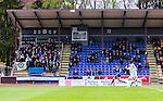 Uppsala 2014-05-07 Fotboll Superettan IK Sirius - &Ouml;stersunds FK :  <br /> Publik och tomma stolar p&aring; huvudl&auml;ktaren p&aring; Studenternas IP under matchen<br /> (Foto: Kenta J&ouml;nsson) Nyckelord:  Superettan Sirius IKS &Ouml;stersund &Ouml;FK supporter fans publik supporters utomhus exteri&ouml;r exterior