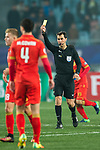 Fifa Referee Ravshan Irmatov of Uzbekistan (R) during the AFC Champions League 2017 Group H match between Jiangsu FC (CHN) vs Adelaide United (AUS) at the Nanjing Olympics Sports Center on 01 March 2017 in Nanjing, China. Photo by Marcio Rodrigo Machado / Power Sport Images