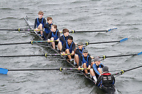Crew: 173  Dulwich Coll  Event: J15 School 1st eights<br /> <br /> Schools' Head of the River 2017<br /> <br /> To purchase this photo, or to see pricing information for Prints and Downloads, click the blue 'Add to Cart' button at the top-right of the page.