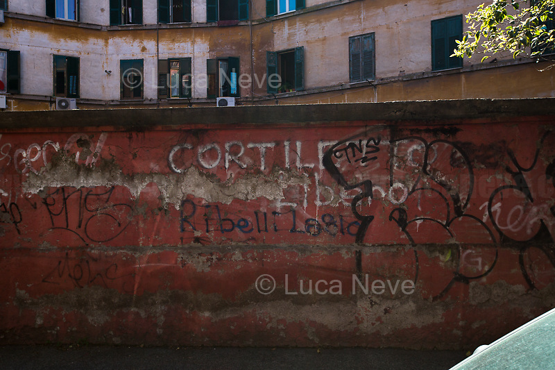 "Rome, 25/04/2020. Today, to mark the 75th Anniversary of the Italian Liberation from nazi-fascism (Liberazione) in Rome, I documented backwards the route of the annual march (Corteo) from Garbatella (South Rome's District in the VIII Municipio / Municipality which in 2020 celebrates 100 years from its foundation) to Piazzale Ostiense (1.) where usually a rally took place attended by Partizans / Partigiani (2.), Veterans and politicians. This year people were not allowed to attend the Commemoration (held with just a delegation of WWII Italian Partizans / Partigiani - including ANPI (3.) - along with the Mayor of Rome and few other Institutional Representatives) due to the spread of the 2019-20 Coronavirus pandemic (SARS-CoV-2 – infection: COVID-19, 5.) which already killed more than 200,000 people in the world (Data by WHO / OMS). The day ended with a flashmob held from the windows of Garbatella's Palladium (6.), where people sang two of the most famous Partizans / Partigiani's Anthems: Bella Ciao and Fischia Il Vento, the Italian Anthem ""Il Canto Degli Italiani / Inno d'Italia / Inno di Mameli"", and few other songs (4.) which celebrate and remember the Partisans / Partigiani, their Sacrifice for the Freedom, the Italian Constitution, and the Future of Italy and Europe without fascisms and dictatorships.<br />