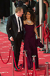 Shalma Hayek and Francois-Henri Pinault pose at Goya Cinema Awards 2012 ceremony, at the Palacio Municipal de Congresos on February 19, 2012 in Madrid..Photo: Cesar Cebolla / ALFAQUI