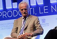 Vito Gulli presidente generali conserve ( asdomar )  durante il XXIX convegno di Capri per Napoli   dei  Giovani Industriali a Citta della Scienza , 25 Ottobre 2014