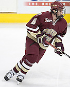 Brett Motherwell - The Boston University Terriers defeated the Boston College Eagles 2-1 in overtime in the March 18, 2006 Hockey East Final at the TD Banknorth Garden in Boston, MA.