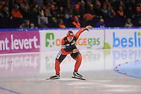 SCHAATSEN: HEERENVEEN: IJsstadion Thialf, 17-11-2012, Essent ISU World Cup, Season 2012-2013, Ladies 2nd 500 meter Division A, Jenny Wolf (GER), ©foto Martin de Jong