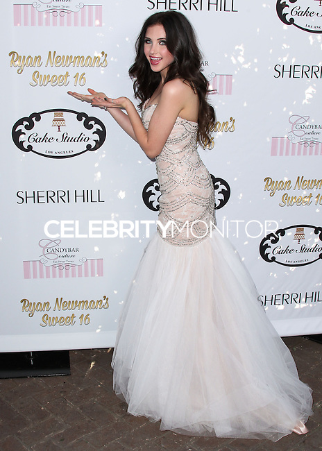 HOLLYWOOD, LOS ANGELES, CA, USA - APRIL 27: Ryan Newman arrives at Ryan Newman's 'Glitz and Glam' Sweet 16 Birthday Party held at Emerson Theatre on April 27, 2014 in Hollywood, Los Angeles, California, United States. (Photo by Xavier Collin/Celebrity Monitor)