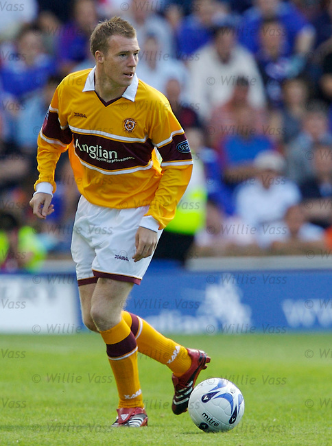 David Clarkson, Motherwell.stock season 2006-2007.pic willie vass