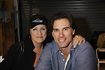 Austin Peck (ATWT & Days) poses with his mom Clare as he attends the Home & Leisure Show on October 16, 2011 at the Capital Clubhouse, Waldorf, Maryland. Austin and Terri signed autographs, took photos and roamed around the show and had fun.  (Photo by Sue Coflin/Max Photos)