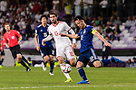 Yoshida Maya of Japan (R) in action during the AFC Asian Cup UAE 2019 Semi Finals match between I.R. Iran (IRN) and Japan (JPN) at Hazza Bin Zayed Stadium  on 28 January 2019 in Al Alin, United Arab Emirates. Photo by Marcio Rodrigo Machado / Power Sport Images