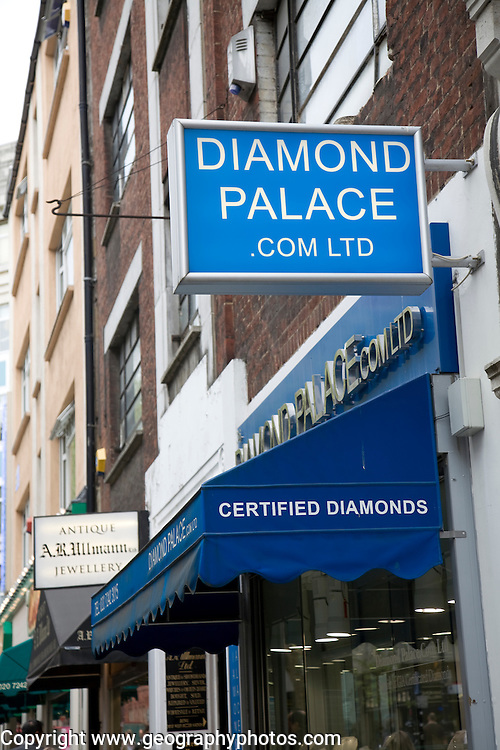 Hatton Garden Jewellery Quarter and Diamond Centre, London, England