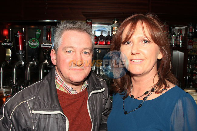 Eugene Kavanagh and Joan Holdcroft at the Peter Lyons' Bakery Reunion in McHughs..Picture: Shane Maguire / www.newsfile.ie.