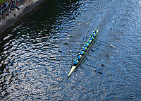 China High-Performance Eight Women's Rowing Team, Windermere Cup 2017, Mountlake Cut, Lake Washington, Seattle, WA, USA.