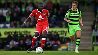 Ousseynou Cisse of MK Dons in action during Forest Green Rovers vs MK Dons, Caraboa Cup Football at The New Lawn on 8th August 2017