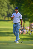 Adam Scott (AUS) on the 2nd during the first round of the WGC Bridgestone Invitational, Firestone country club, Akron, Ohio, USA. 03/08/2017.<br /> Picture Ken Murray / Golffile.ie<br /> <br /> All photo usage must carry mandatory copyright credit (&copy; Golffile | Ken Murray)