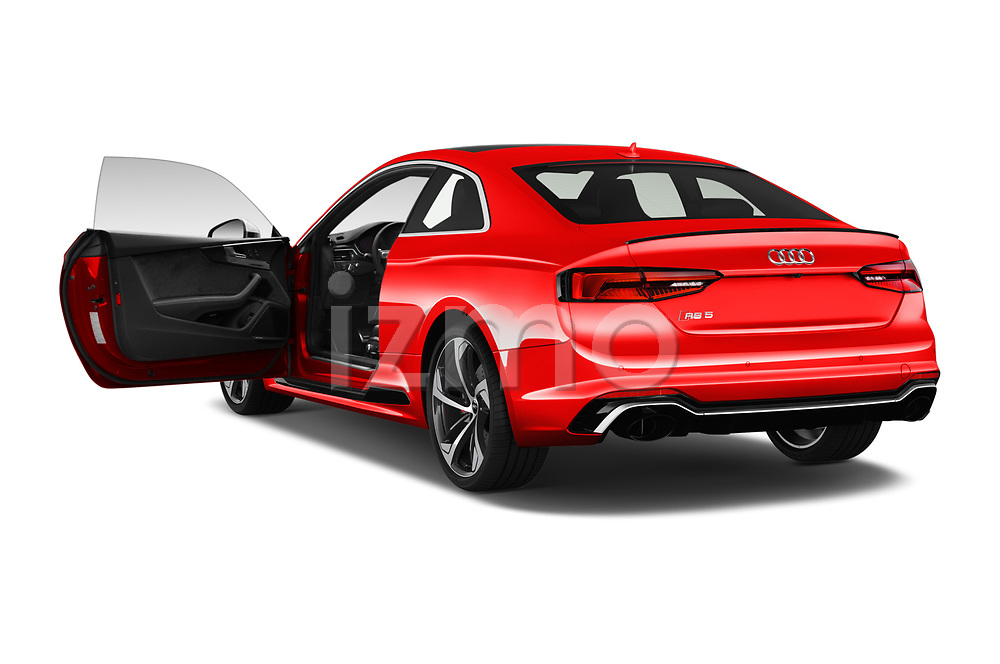 Car images close up view of a 2019 Audi RS5 4WD 2 Door Coupe doors