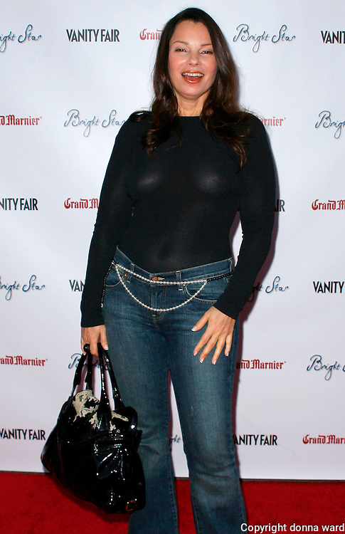 """Actress Fran Drescher attends the """"Bright Star"""" Premiere at the Paris Theater in New York City on September 14, 2009.."""