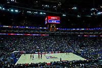 17th January 2019, The O2 Arena, London, England; NBA London Game, Washington Wizards versus New York Knicks; Washington Wizards pull back the score to 90-91
