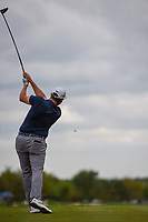 Adam Schenk (USA) watches his tee shot on 2 during day 4 of the Valero Texas Open, at the TPC San Antonio Oaks Course, San Antonio, Texas, USA. 4/7/2019.<br /> Picture: Golffile | Ken Murray<br /> <br /> <br /> All photo usage must carry mandatory copyright credit (© Golffile | Ken Murray)