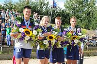 FIERLJEPPEN: WINSUM: 09-08-2014, Fries Kampioenschap Fierljeppen, ©foto Martin de Jong FIERLJEPPEN: FRYSLÂN: Historie, ©foto Martin de Jong