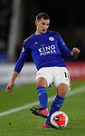Marc Albrighton of Leicester City during the Premier League match at the King Power Stadium, Leicester. Picture date: 9th March 2020. Picture credit should read: Darren Staples/Sportimage