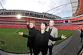 Dec 04, 2006: MUSE - Photocall at Wembley Stadium London