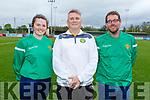 Under 13 Gaynor Cup team Management, Mary Bates, Stuart Etherington and Alan O'Sullivan.