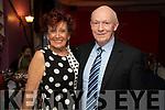 Maureen Deady (Cork) and Seamus Friel (Ballybunion), attending the Women in Media event, in Ballybunion on Saturday last.