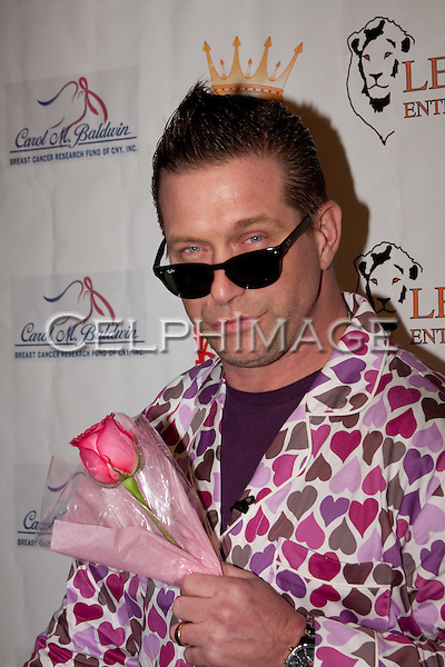 STEPHEN BALDWIN.  Decked out in pajamas, celebrities arrive to Bowling After Dark, an event to benefit the Carol M. Baldwin Breast Cancer Research Fund, at Pinz Bowling Center in Studio City, CA, USA. February 13, 2010.