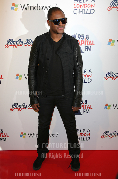 Taio Cruz at the Capital Radio Jingle Bell Ball, O2 Arena, London. 04/12/2010  Picture by: Alexandra Glen / Featureflash