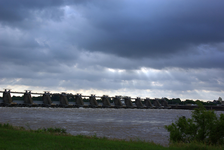 David D. Terry Lock and Dam on the Arkansas River