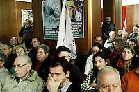 Milano: sostenitori della Lega Nord al Teatro Nuovo per la presentazione dei candidati alla regione Lombardia