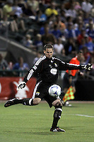 Andy Gruenebaum,.Columbus Crew defeated Kansas City Wizards 2-0 at Community America Ballpark, Kansas  City, Kansas.