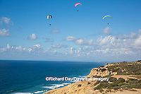 62995-00612 Hang Gliders at Torrey Pines Gliderport La Jolla, CA