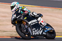 Hafizh Syahrin at pre season winter test IRTA Moto3 & Moto2 at Ricardo Tormo circuit in Valencia (Spain), 11-12-13 February 2014