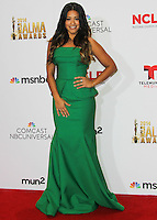 PASADENA, CA, USA - OCTOBER 10: Gina Rodriguez poses in the press room at the 2014 NCLR ALMA Awards held at the Pasadena Civic Auditorium on October 10, 2014 in Pasadena, California, United States. (Photo by Celebrity Monitor)
