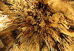 LStalacities stalagmites and columns Luray Caverns Luray Virginia,
