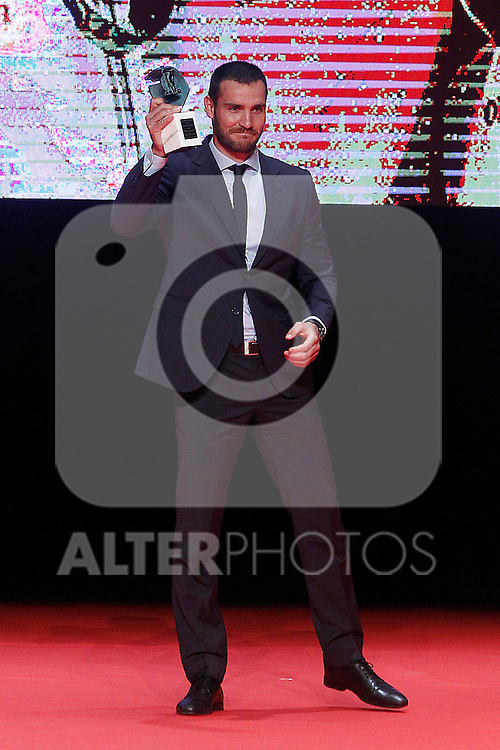 Spanish Canoeist Saul Craviotto Rivero during 37 Sport Gala - National Sports Awards 2017. March 6,2017. (ALTERPHOTOS/Acero)