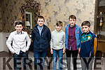 Enjoying the Lixnaw GAA Presentation Dance at the Rose Hotel on Saturday were Sean O'Donnell Power, Philip Shortland, Brian Allan, Darragh O'Connor,  Aaron Mahan