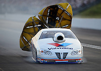 Jun. 15, 2012; Bristol, TN, USA: NHRA pro stock driver Ron Krisher during qualifying for the Thunder Valley Nationals at Bristol Dragway. Mandatory Credit: Mark J. Rebilas-