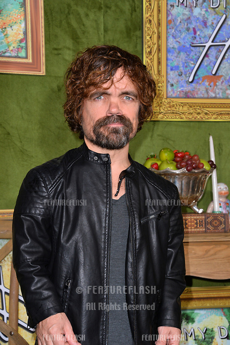 LOS ANGELES, CA. October 04, 2018: Peter Dinklage at the Los Angeles premiere for &quot;My Dinner With Herve&quot; at Paramount Studios.<br /> Picture: Paul Smith/Featureflash