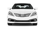 Car photography straight front view of a 2017 Hyundai Azera Liimited 4 Door Sedan