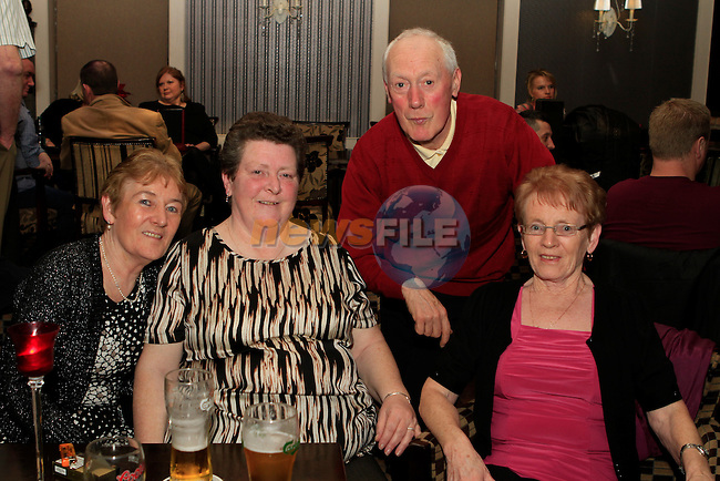 Rosemary Byrne, Mary O'Rourke, Joan Floody and Pat Gartland in The Pheasant...Photo NEWSFILE/Jenny Matthews..(Photo credit should read Jenny Matthews/NEWSFILE)