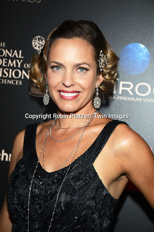 Arianne Zucker attends The 40th Annual Daytime Emmy Awards on<br />  June 16, 2013 at the Beverly Hilton Hotel in Beverly Hills, California.