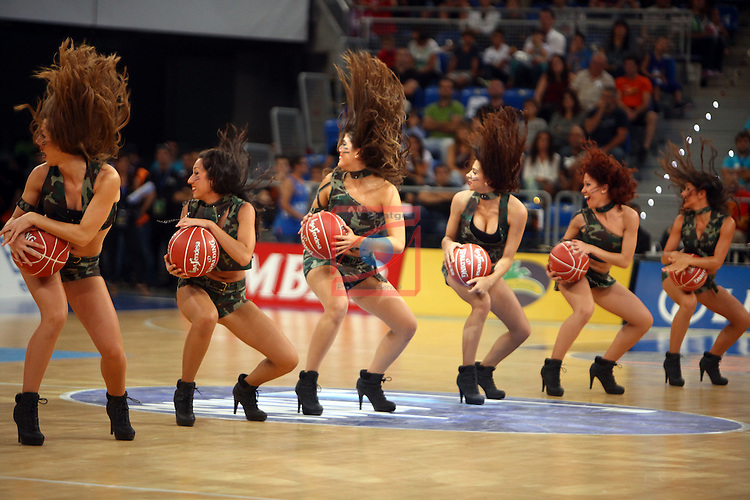 XI Supercopa ENDESA-Final.<br /> R. Madrid vs FC Barcelona: 99-78.<br /> Dream Cheers.