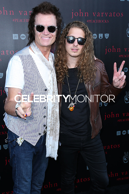 WEST HOLLYWOOD, CA, USA - SEPTEMBER 21: Glenn Hughes arrives at the John Varvatos #PeaceRocks Ringo Starr Private Concert held at the John Varvatos Boutique on September 21, 2014 in West Hollywood, California, United States. (Photo by Xavier Collin/Celebrity Monitor)