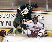 Celeste Doucet (Vermont - 12), Blake Bolden (BC - 10) - The University of Vermont Catamounts defeated the Boston College Eagles 5-1 on Saturday, November 7, 2009, at Conte Forum in Chestnut Hill, Massachusetts.