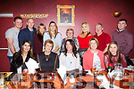Marie O'Beirne (St Brendans Park) seated centre celebrating her birthday in Restaurant Uno on Saturday night last with her family and friends.